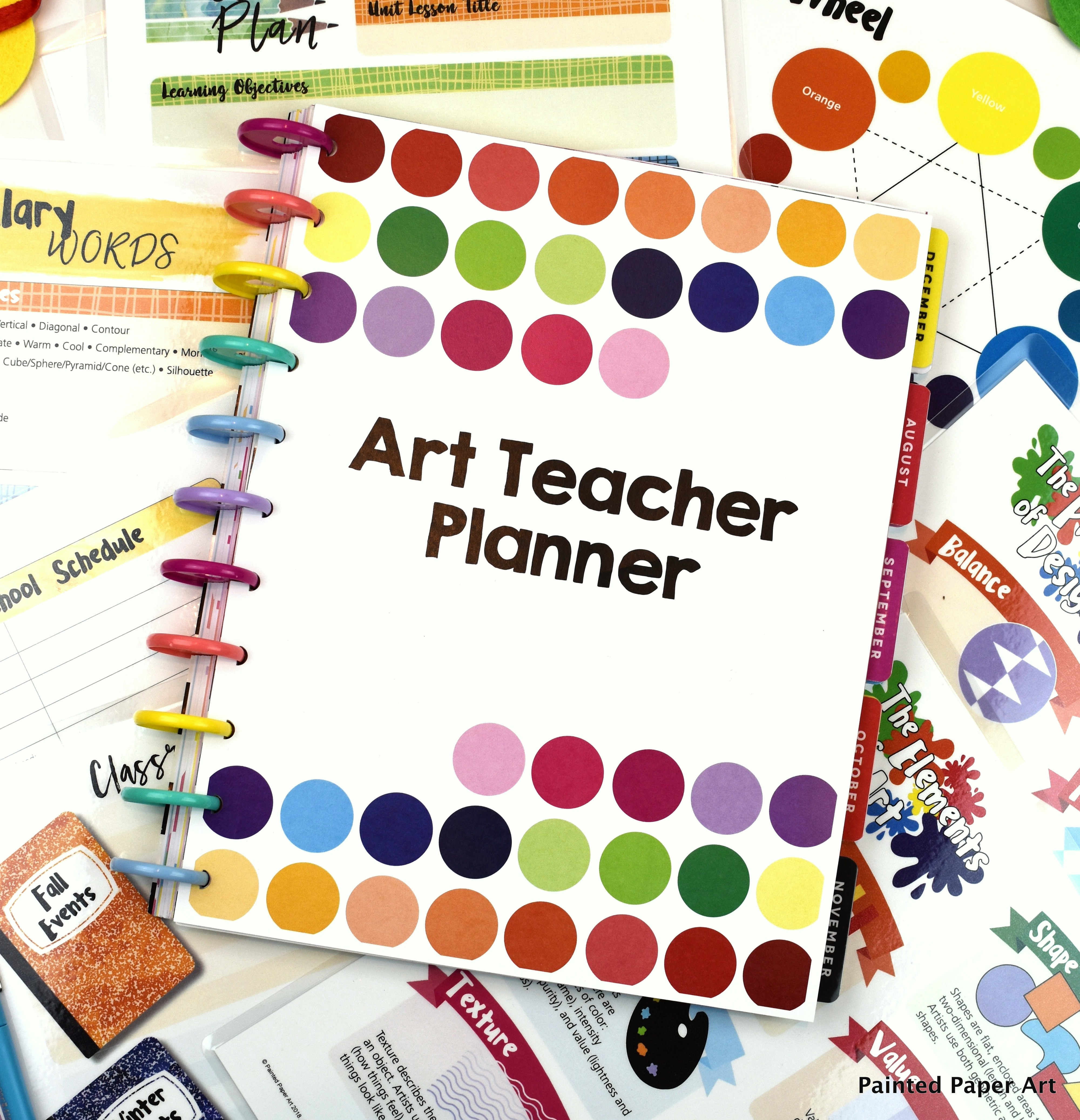 Art Teacher Planner