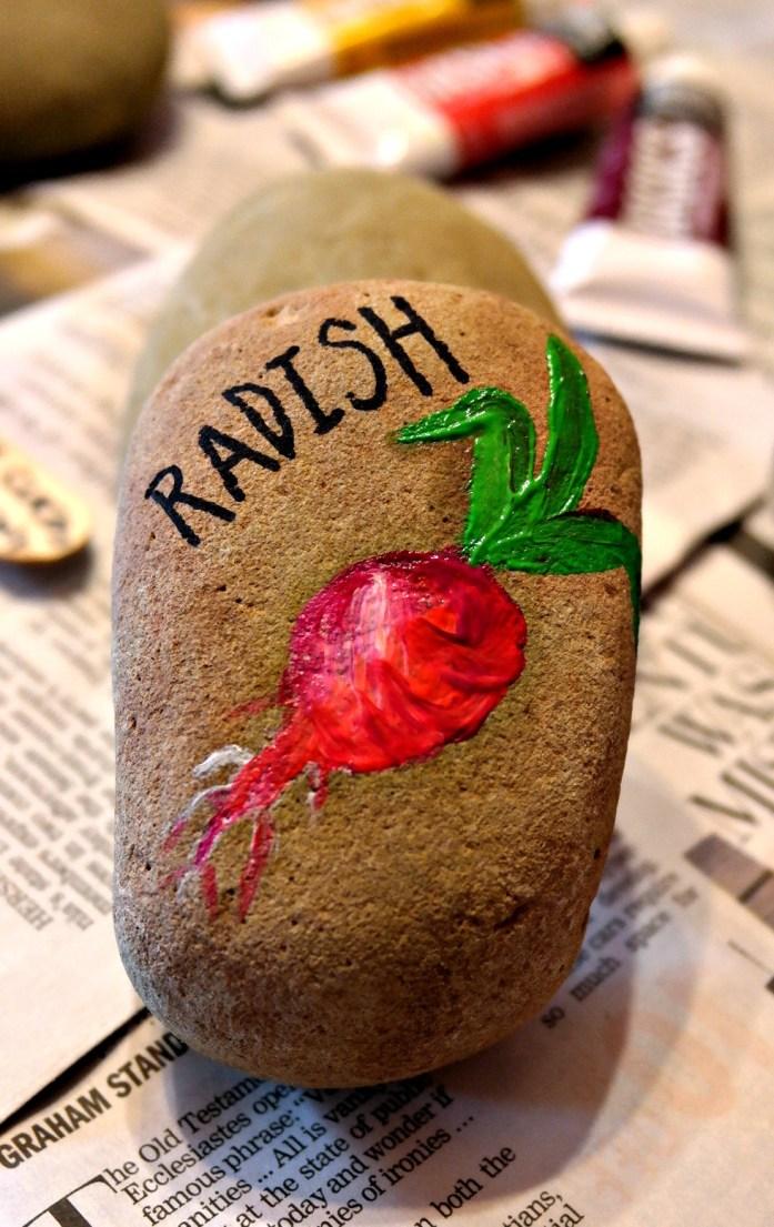 Radish Garden Marker