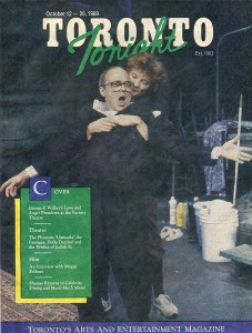 Peter Blais & Nancy Beatty Starting a 9 Month Run ofLove & Anger by Geo F. Walker, Produced by Factory Teatre & Livent 1992