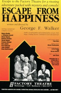 Escape From Happiness Poster