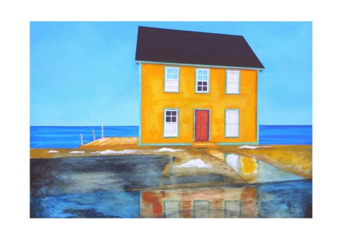 House Reflections by Peter Blais 16 x 20 Limited Edition Print