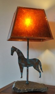 Mica Shade Table lamp