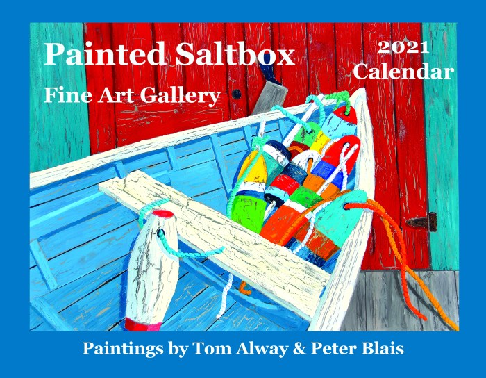 Cover image for the Painted Saltbox 2021 Calendar
