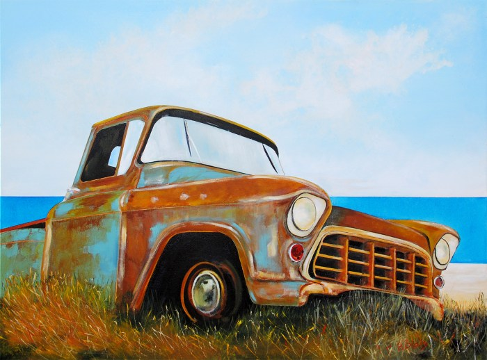 Better Days Ahead by Artist Peter Blais at the Maritime Painted Saltbox Fine Art Gallery