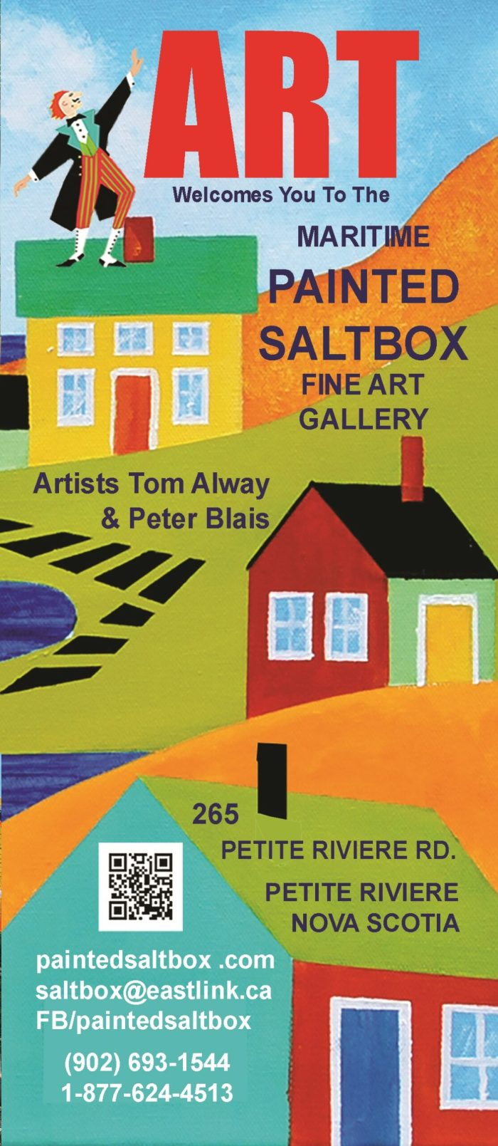 Brochure for the Painted Saltbox Fine Art Gallery for our 23rd season 2021