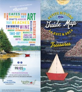 Guide Map for Petitie Riviere and LaHave Area  for 2021
