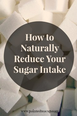 5 easy essential oil water recipes to help naturally reduce your sugar intake. www.paintedteacup.com