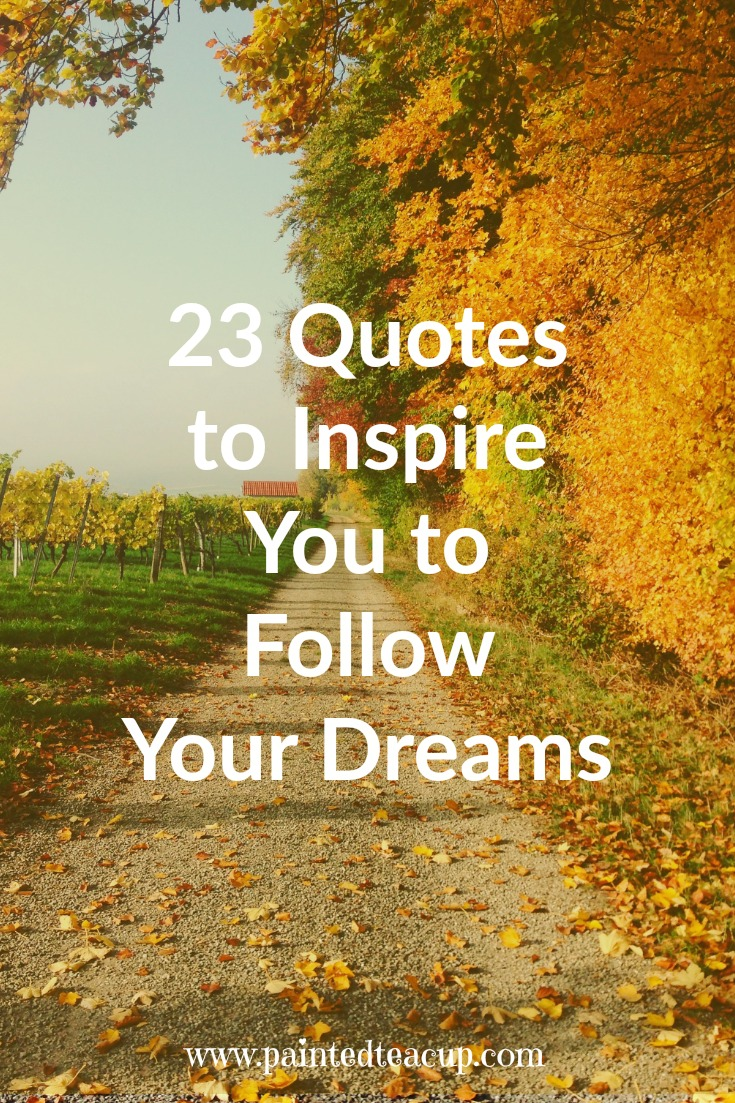 Dream Quotes 23 Quotes To Inspire You To Follow Your Dreams