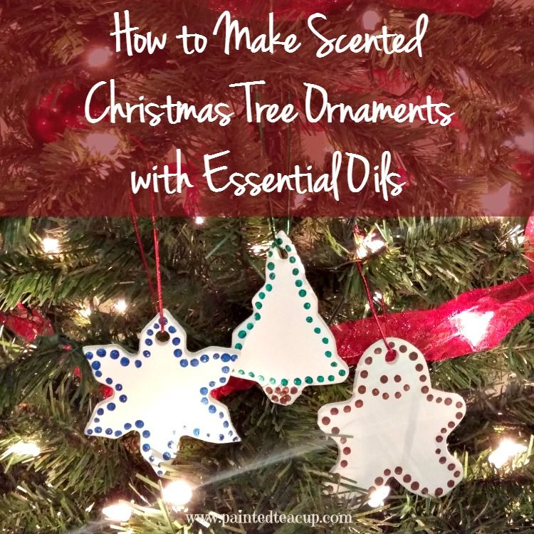 how to make scented christmas tree ornaments with essential oils easily bring your favourite scents - Christmas Essential Oils