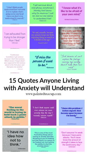 Are you living/struggling with anxiety? If so these quotes are just what you need to help you feel understood and less alone!