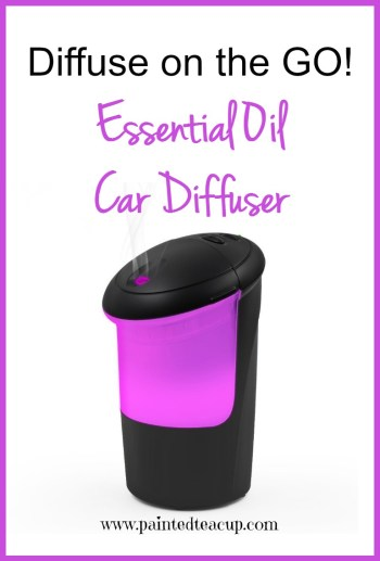 Essential oil car diffuser perfect for diffusing on the go!