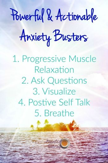 Take care of your mental health with these actionable and powerful anxiety busters!