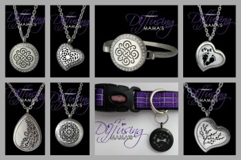 This essential oil diffusing jewelry makes the perfect gift for any essential oil lover!
