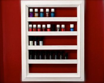 Essential Oil Storage Solutions Frame Shelf