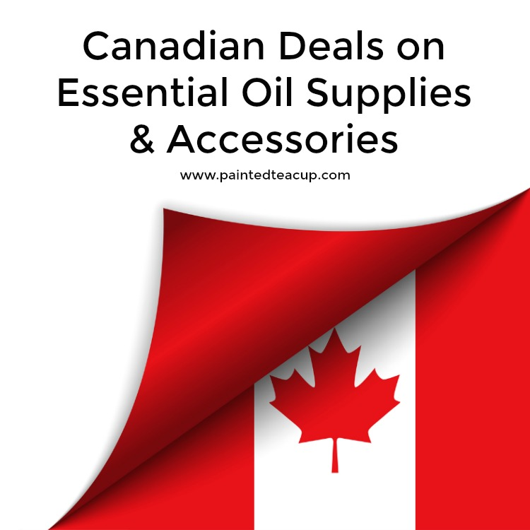 Canadian Deals on Essential Oil Supplies & Accessories