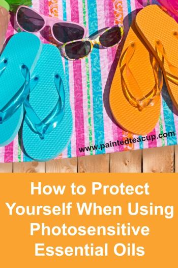 When using photosensitive essential oils it is extremely important that you take safety precautions. Get a list of photosensitive oils and application tips.