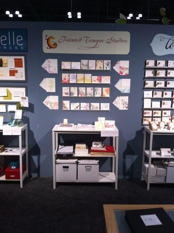 Painted Tongue Studios at National Stationery Show