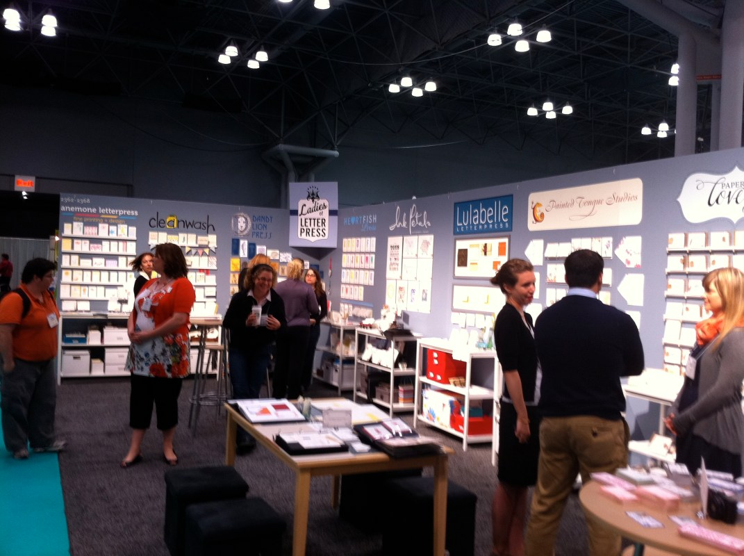Ladies of Letterpress at National Stationery Show
