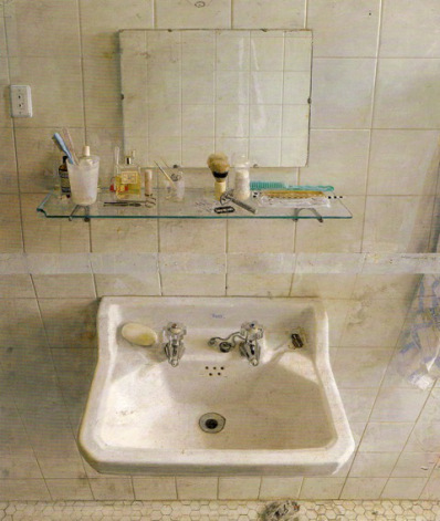 Resultado de imagen de antonio lópez garcía sink and mirror