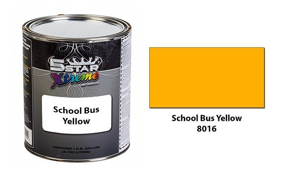 School-Bus-Yellow-Urethane-Paint-Kit-5-Star-Xtreme