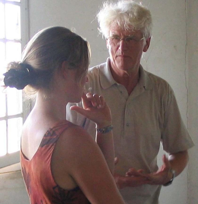 worshops: teaching Cathy