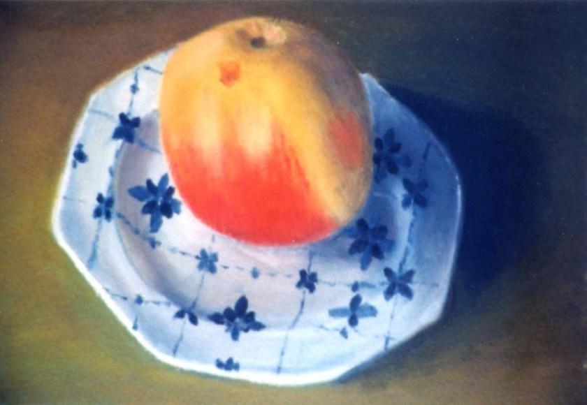 Michel Moureau floating apple