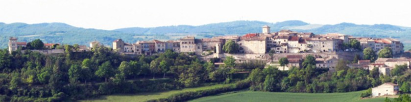 Montmiral across the valley May 2016