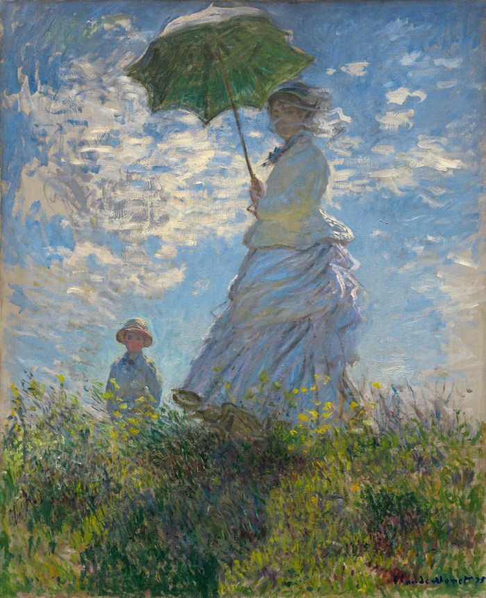 Early Modernists - painting by Monet