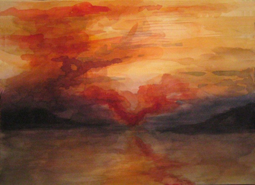 Fiona Laurie sunset