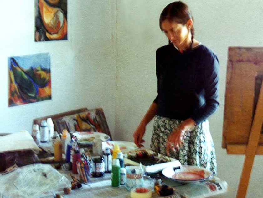 Kathy colur mixing