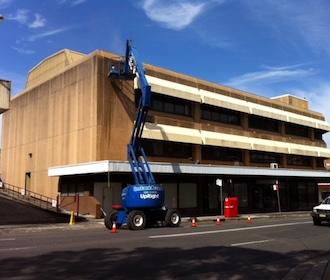 Commercial and Industrial Services: Texture Coating. Central Coast, New South Wales.
