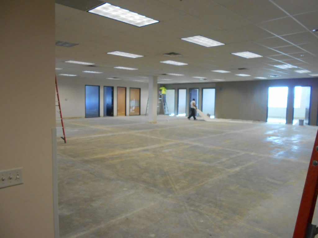 Commercial Interior Painting New Tenant Finish Job Eco