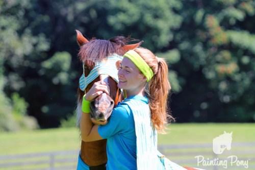 Minnow the Super Hero Chincoteague Pony