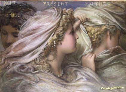 Image result for past present future painting