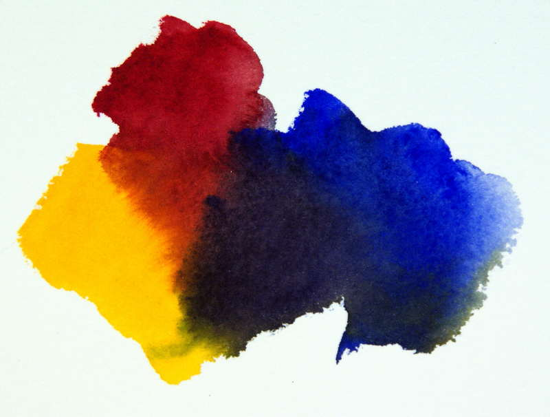 Color Mixing Formula Mixing Bright Versus Dull Watercolors