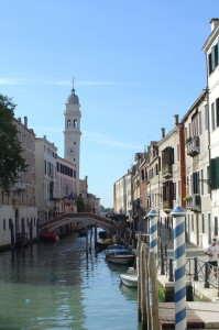 San Giorgio dei Greci and Venice Canal