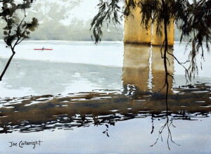 One of the paintings I have my students produce in my watercolor classes by watercolour painting Joe Cartwright