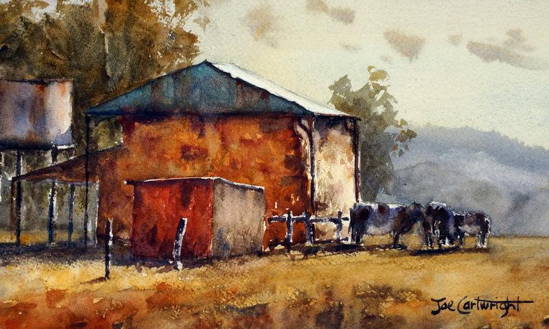 Watercolor Paintings Studio Organization Painting With Watercolors