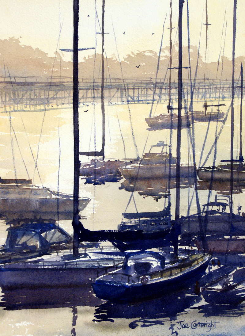 Original watercolor art for sale - Watercolor Painting For Sale Coffs Harbour 13 In X 21 In Aud 595