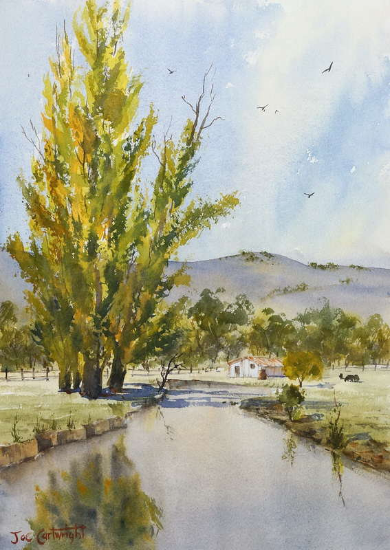 Plein air painting lesson – Changing light