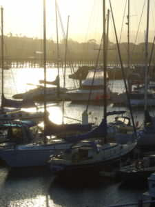 Photo of Coffs Harbour Marina used as an example for photos for painting