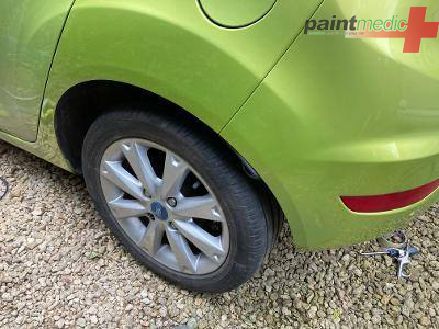 Ford Fiesta after Paintmedic repair