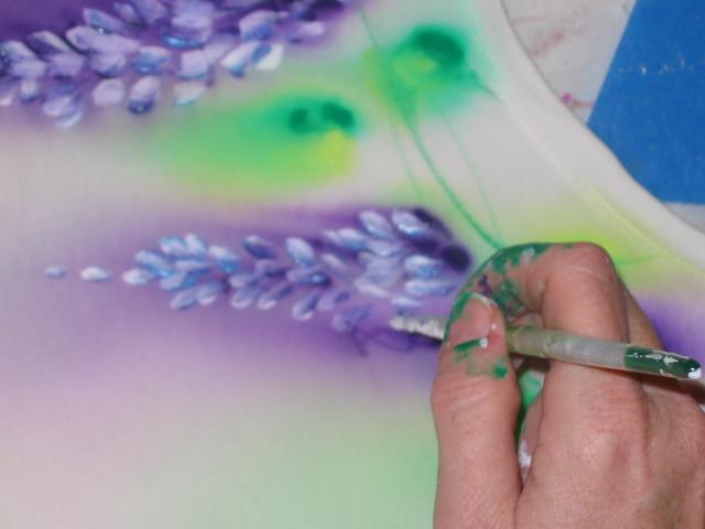 Step By Step Fabric Painting Tricks Silkfair