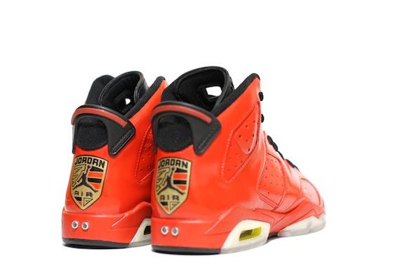 porsche 911 air jordan vi c2 customs 6 Red Porsche 911 Custom Air Jordan VI Shoes by C2 Customs