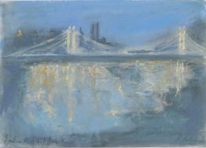 Darkness to Albert Bridge by Katie Falcon