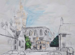 Norwich Sketchbook by Elizabeth Monahan