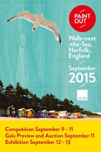Paint Out Wells-next-the-Sea Plein Air Art Competition, 9-11 Sep 2015