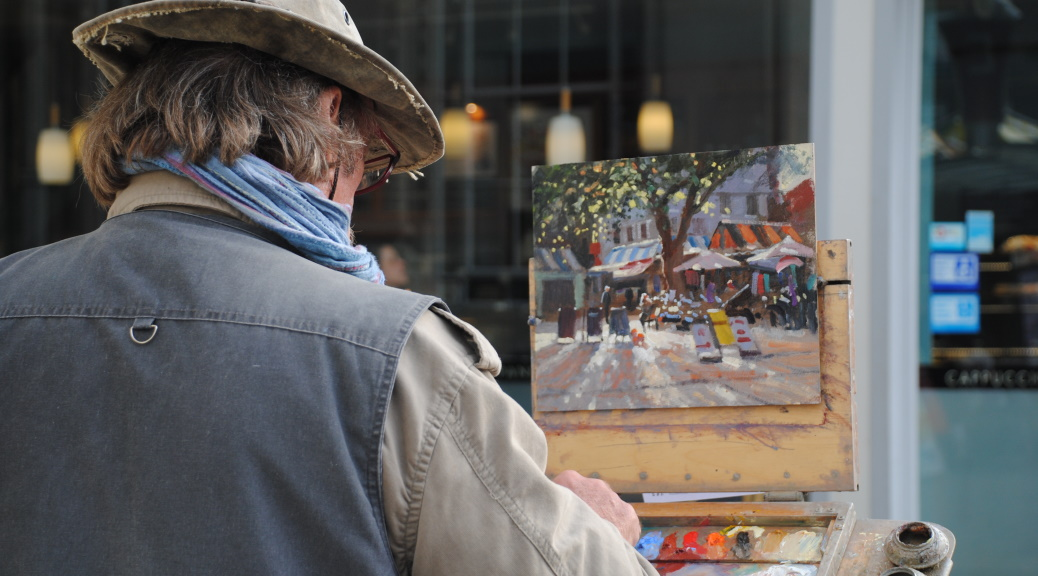 Michael Richardson Paint Out Norwich 2014