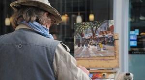 Michael Richardson Paint Out Norwich 2014