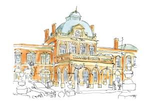 Owen Mathers, Norwich Station, 2014